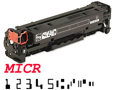 """MICR for Check"" HP CC530A Black Toner Cartridge for CP2025dn, CP2025n, CM2320"