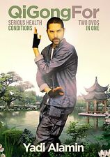 NEW!  QiGong For Serious Health Conditions 2.0.  2 DVD SET!  Best On The Web.