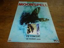 MOONSPELL - Publicité de magazine / Advert THE BUTTERFLY EFFECT - CONCERT  !!!!!