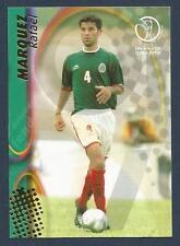 PANINI WORLD CUP 2002- #079-MEXICO & MONACO-RAFAEL MARQUEZ