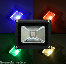 10W 16 Color LED Outdoor FLOODLIGHT SPOTLIGHT Party Bar Stage DJ Band Uplight