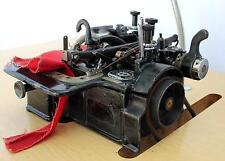 WILLCOX & GIBBS Rare Vintage 3-Thread Overlock Serger Industrial Sewing Machine