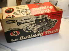 RARE Old Antique Vintage Remco Light Bulldog Toy US Army Tank Cardboard BOX ONLY
