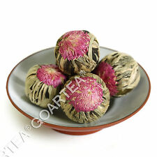 12Pcs Organic Handmade Jasmine Blooming Flowering Flower Artistic Green Tea Ball