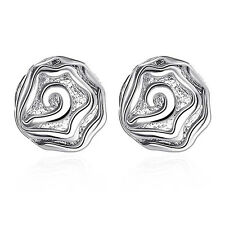 Exquisite 925 SILVER filled jewelry fashion accessories Woman Earring Fine gifts