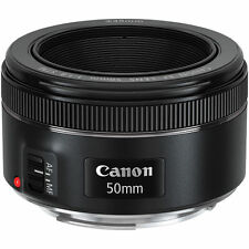 Brand New Canon EF 50mm f/1.8 STM Lens 013803256871 - What A Scary Good Deal