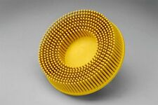 3M 07525 SCOTCH BRITE ROLOC BRISTLE DISC BRUSH 50MM YELLOW 80 GRADE MEDIUM x 1