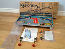 1930S GOTHAM TIN ICE HOCKEY GAME IN ORIG BOX- Mint-New in Box!! Rare find!!