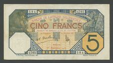 FRENCH WEST AFRICA - 5 francs 1932  P5Bf  About VF  ( Banknotes )