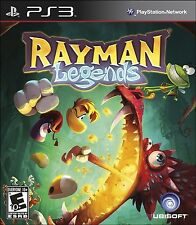 PLAYSTATION 3 PS3 GAME RAYMAN LEGENDS BRAND NEW & FACTORY SEALED