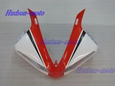 Front Nose Cowl Upper Fairing For Yamaha YZF R1 2009-2011 YZFR1 10 11 White red