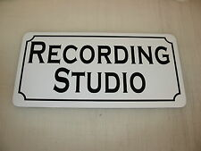RECORDING STUDIO Tin Metal Sign 4 Dance Club Bar DJ Sound Equipment