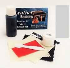 Air Dry Leather & Vinyl Repair Kit SILVER GRAY Color Repair Recolor & Restore