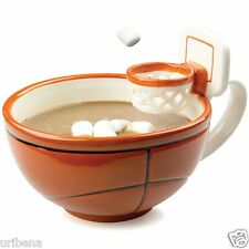 The Mug With A Hoop Basketball Mug with an Attached Hoop MAX'IS Creations BBCUP