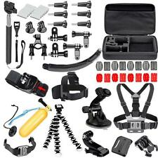 51in1 Head Chest Mount Floating Monopod Accessories Kit For GoPro 2 3 4 SJ4000