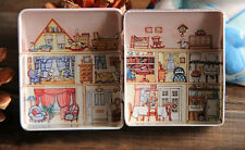 House Shape Tea Box Container Candy Cookie Storage Case Newest Tin Jewelry Gift