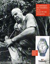 Publicité advertising 1997 La Montre Tissot PR 100 autoquartz