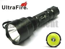 Ultrafire C8 Cree XM-L2 Single Mode LED 18650 Flashlight Torch