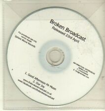 (CW478) Broken Broadcast, Good Afternoon Mr Moon - DJ CD