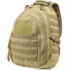NEW CONDOR #140 Tactical MOLLE Ambidextrous Sling Backpack Conceal Bag Tan