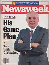 MAY 30 1988 - NEWSWEEK magazine (UNREAD - NO LABEL) - GORBACHEV