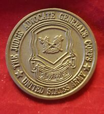 U.S. Army Judge Advocate General's Corps ~ Challenge Coin (VINTAGE ~ AUTHENTIC)
