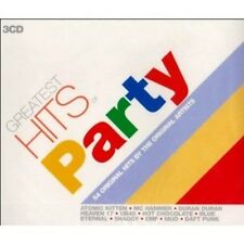 Greatest Hits Of Party 3-CD NEW SEALED UB40/Mud/Wizzard/Blondie/EMF/Daft Punk+