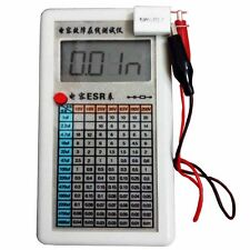 LCD Screen Digital Capacitor ESR Tester Internal Resistance Meter In Circuit