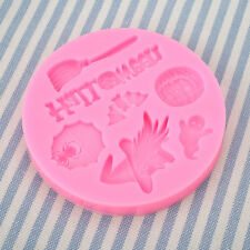 Halloween Festival Silicone Cake Cookies Decorating Kitchenware Mould Tool