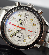 OMEGA SPEEDMASTER  MARK 40  DATE 3513.33 AUTOMATIC CHRONOGRAPH BOX/PAPERS/GTEE