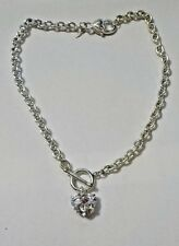 "Vintage 17"" Heart Themed Necklace - Can Be A Bracelet Also - Avon SH"