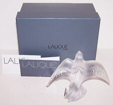 LALIQUE FRANCE CRYSTAL MARTINET TAKING FLIGHT SWALLOW  FIGURINE 1210700 IN BOX