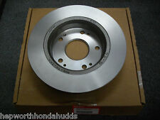 GENUINE HONDA REAR BRAKE DISCS AND PAD SET FOR CIVIC 2006-2011 MODELS