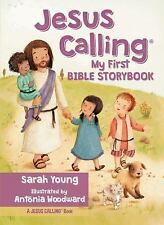 Jesus Calling My First Bible Storybook by Sarah Young (2016, Board Book)