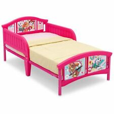 Girls Toddler Bed Paw Patrol Skye And Everest Pink Bedroom Furniture Bed Rails