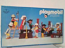 playmobil 3410:les bourgeois et leur gens;complet;vintage;rare;chevaliers