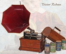 Edison Fireside Model B 4 Minute cylinder phonograph w/Model H reproducer
