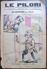 LE PILORI, dimanche 14 Avril- 1895, n° 469. Les grand'croix, Felix Faure,1895