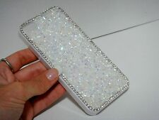 White Clear Swarovski Elements Crystals Rhinestone Case Cover Skin iPhone 7 Plus