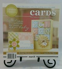 Cards Specialty Magazine Book March Papercrafting Card Making Idea Book