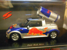 BMW MINI Cooper S Pickup Red Bull Edition 2008 spark Resin 1:43