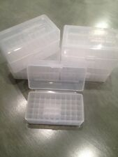 Berry's Ammo Rifle Boxes (5)  222 223 .223 17 Rem 5.56 CLEAR 50 round MPN 405