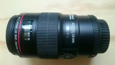 Canon EF 100mm f/2.8 Macro IS USM L Lente