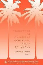 Technical Reports: Pragmatics of Chinese As Native and Target Language No. 5...