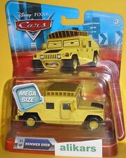 MN - HUMMER SVEN - #11 Mega Size yellow vehicle Disney Cars modellino oversized