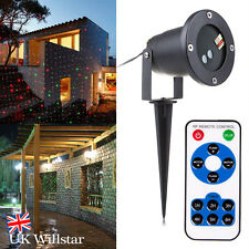 Pro Outdoor Xmas Light Sky Star Laser Spotlight Shower Christmas Garden Lights