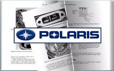 Polaris 400 Indy Snowmobile Service Repair Manual 1985-1987