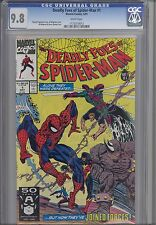 Deadly Foes of  Spider-Man #1  CGC 9.8 : A 1991 Amazing Comic
