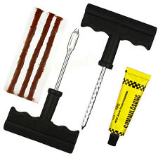6PCS Emergency Car Van Motorcycle Tubeless Tyre Puncture Repair Kit Tool 3 Strip
