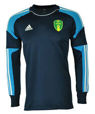 Adidas Campeon 13 GK Torwart Trikot langarm blau FFRIM Logo Climacool Gr. L